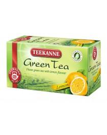 Зелен чай с аромат лимон Teekanne
